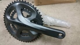 Ultegra 9-10 speed crankset, FG 6750, 172.5 cranks, new and unused