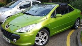 Peugeot 307cc - Limited Edition with very LOW MILAGE and MOT