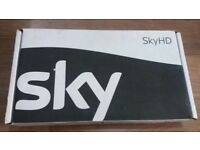 SKY HD Multiroom Slimline Box DRX595-C With Remote in original packaging