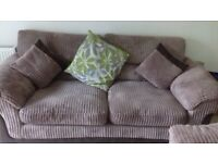 3+2 seater dfs cord suite