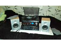 Turntable+CD+Amp+Speakers