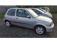 NISSAN MICRA 1.0 PETROL 12 MONTHS M.O.T