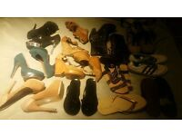 A Bundle of Shoes (12 pairs) Size 6 and 5.5
