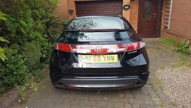 Honda Civic I-VTEC 1.8 petrol hatchback black