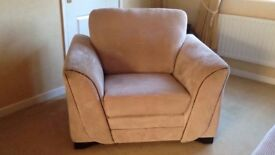 Armchair - Beige, single seat, good condition
