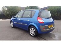 RENAULT SCENIC 1.6 AUTOMATIC IN EXCELLENT CONDITION. MOT OCTOBER 2017 & TAX. PREVIOUS MOTs AVAILABLE