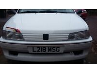 Peugeot 106 Rallye with 1.6 GTI engine conversion in stunning condition