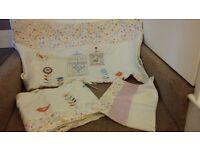 Baby girls bedding set