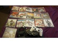 PS3 SLIM + GAMES