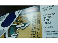 NFL tickets @ wembley this weekend!!!
