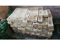 Smead Dean old English roughs . Approximately 200 bricks