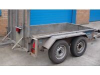 2 mini digger trailers need attention