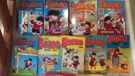 Beano Hard Back Annuals