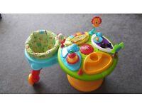 Bright starts around we go baby toy activity centre