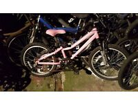 Girls landrover childs bike
