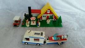 Vintage Lego 1472 - Holiday home (1987)