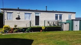 Willerby Richmond sited static caravan in Bridlington and furniture included