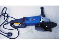 power craft angle grinder 2100w heavy duty with discs
