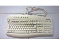 COMPUTER KEYBOARD AND MOUSE (USED)