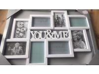 New 'YOU&ME' photo wall hanging