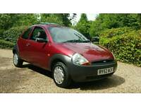 Ford KA 1.3 STYLE * 12 MONTHS FULL MOT*ONLY 55k Miles with FULL S/HISTORY-SUNROOF/3-Door- IMMACULATE