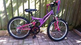 Girls Apollo FS 20 MTB for sale