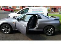 Car for sale . Silver Mitsubishi fto .