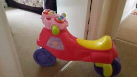 Vtech 2 in trike to bike ride on