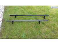 Roof Bars (Halfords) for Corsa or other small car with rain gutters.