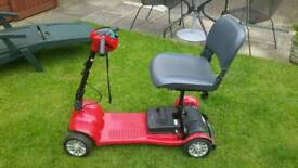 Mobility disabled scooter buggy