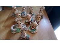 Woodlander Rabbit ornaments
