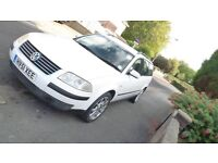 VW Passat Estate White 51 plate