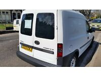 Vauxhall combo 12months mot service history ready for work cheap on fuel tax tidy cd 80k £895