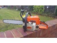 Stihl 023 chainsaw ms 230 171 017 200 petrol logging tree