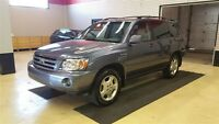 2006 Toyota Highlander Limited Htd leather w Roof