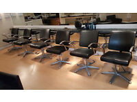 Verona Styling Chair - 6 Hairdressing Chairs
