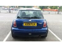 Mini hatchback.petrol manual long mot.back exhaust leak still drives