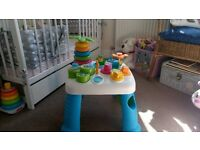 ACTIVITY TABLE SMOBY Very good condition !!!!