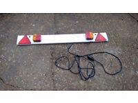 Trailer light board 4ft