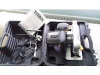 TITAN TTB286CSW 1500W 190MM CIRCULAR SAW 230V with carrying case