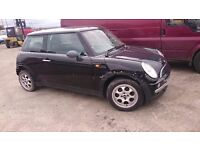 2003 MINI ONE, 1.6 PETROL, BREAKING FOR PARTS ONLY, POSTAGE AVAILABLE NATIONWIDE