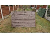 Used fencing panels 6ft x 4ft