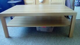 **Immaculate large coffee table as new.**