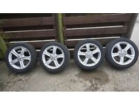 Audi A4 Alloy Wheels and Tyres