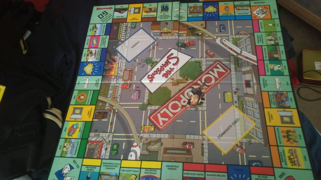 Simpsons monopoly reduced price