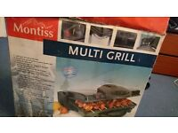 Montiss Multi Grill - MGM-5484 - Unopened