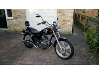 AJS Regal Raptor Motorbike 125cc 2006 project bike