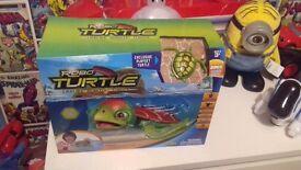 Brand new sealed robo turtle