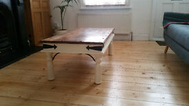 Farmhouse shabby chic rustic Indian Thakat style coffee table