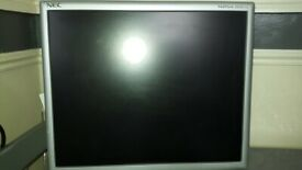 17 Inch LCD Monitor - NEC Multisync LCD 175 - With Built in Speakers